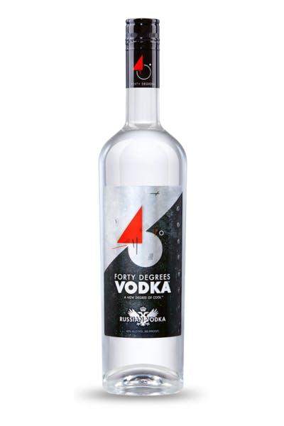 40 Degrees Vodka