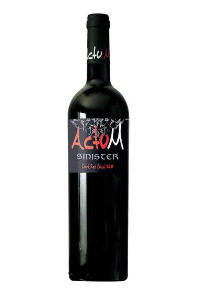 Actum Sinister Red Blend