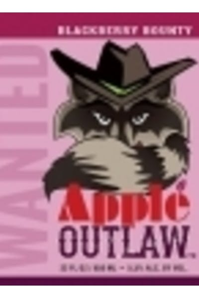 Apple Outlaw Blackberry Cider