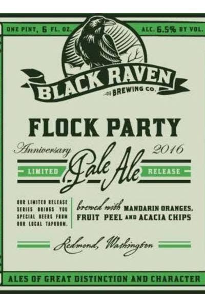 Black Raven Flock Party Pale Ale