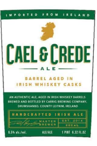 Cael & Crede Barrel Aged Amber Ale