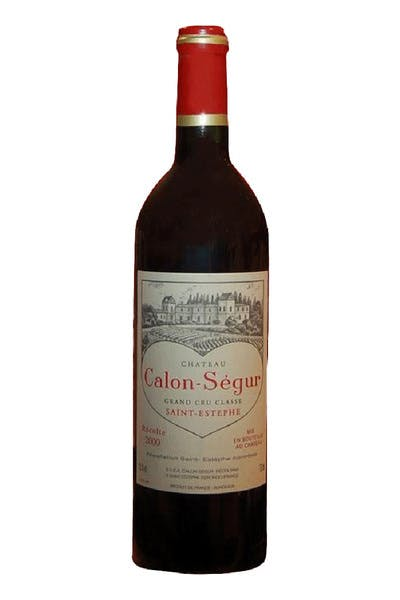 Chateau Calon Segur St Estephe 1996