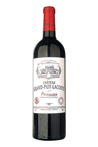 Chateau Grand Puy Lacoste Pauillac 2013