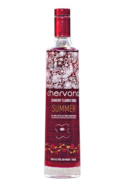 CHERVONA SUMMER Cranberry Infused Vodka