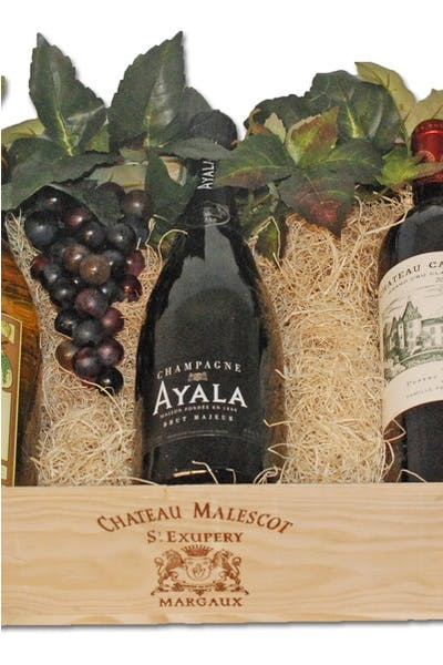 Classic Wine Trio Gift Basket
