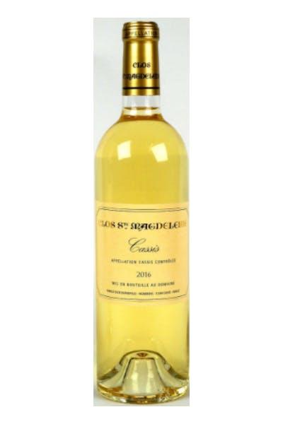Clos Sainte Magdeleine Cassis Blanc Magnum 2012