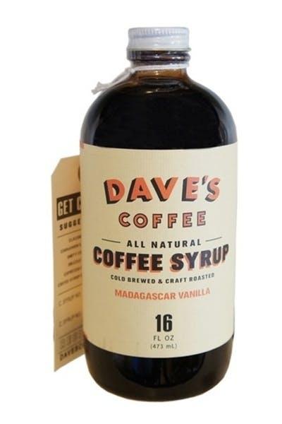 Dave's Vanilla Coffee Syrup