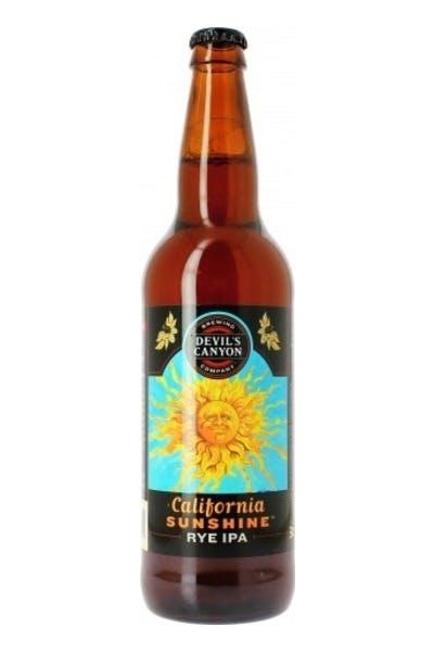 Devil's Canyon California Sunshine Rye IPA