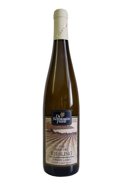 Dr Frank Riesling Semi Dry