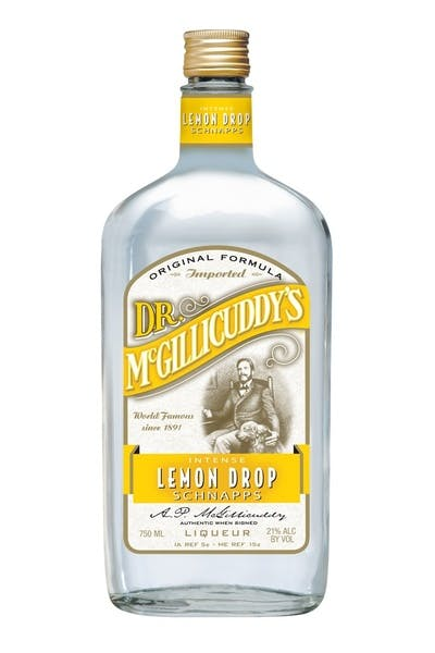 Dr. McGillicuddy's Lemon Drop