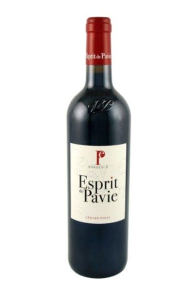 Esprit De Pavie Bordeaux 2012