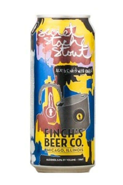 Finch's Beer Co. Secret Stache Stout