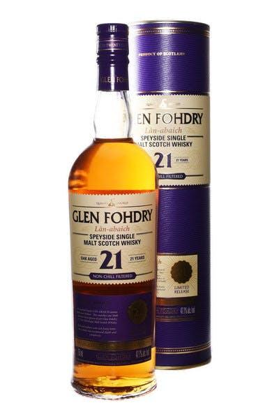 Glen Fohdry 21yr Single Malt