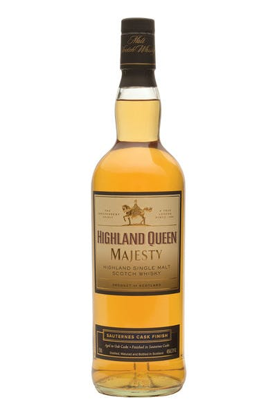 Highland Queen Majesty Sauternes Finish Single Malt