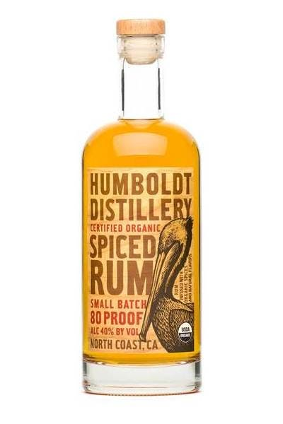 Humboldt Distillery Small Batch Spiced Rum