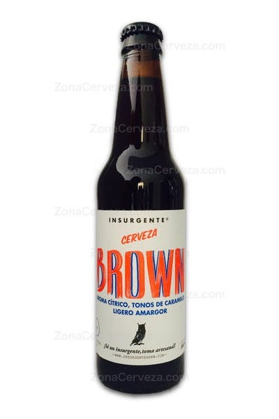 Insurgente Brown Cerveza