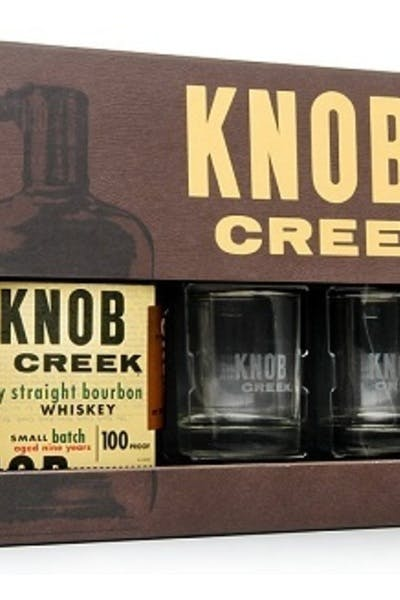 Knob Creek Gift Set with Whiskey Stones
