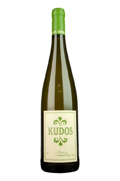 Kudos Riesling Willamette Valley