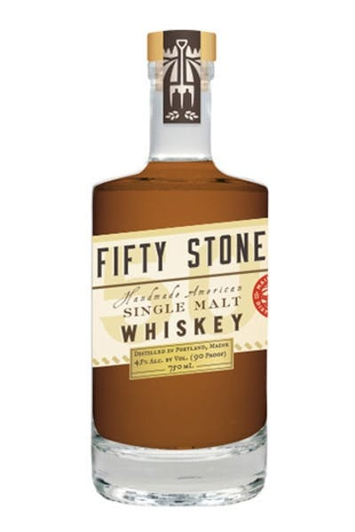 Maine Fifty Stone Single Malt Whiskey