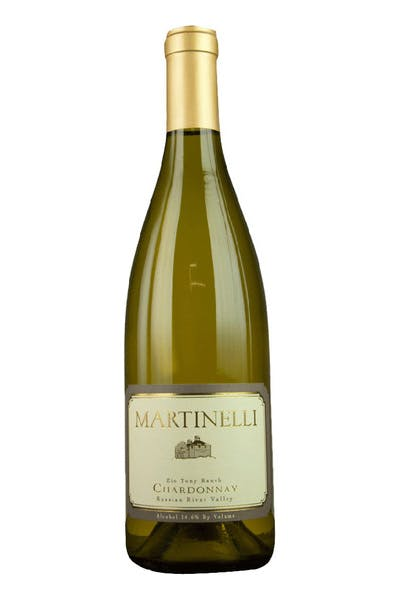 Martinelli Chardonnay  Zio Tony Ranch