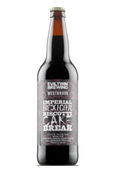 Evil Twin/ Westbrook Imperial Mexican Biscotti Cake Break