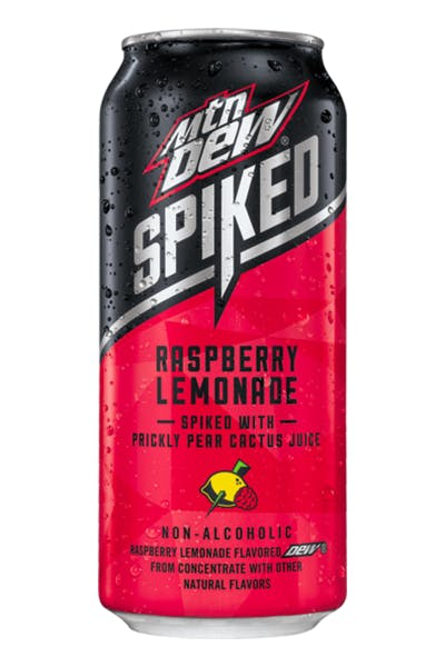 Mountain Dew Spiked Raspberry Lemonade