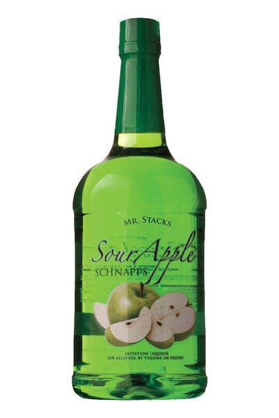 Mr Stacks Sour Apple Schnapps
