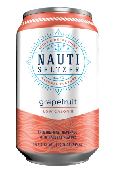 Nauti Grapefruit Seltzer