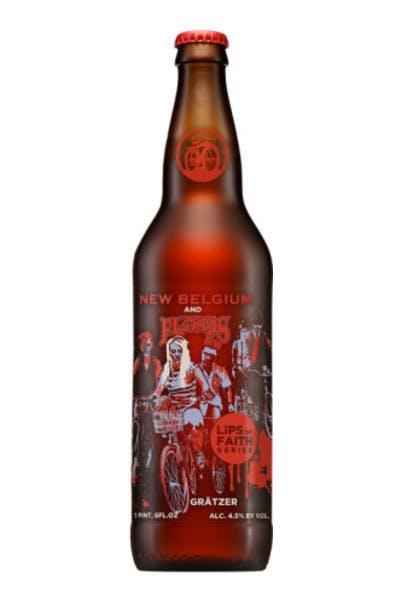 New Belgium Three Floyds Lips of Faith Gratzer Ale