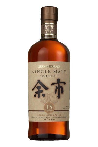 Nikka Yoichi Single Malt 15 Yr