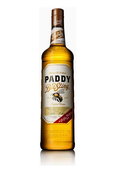 Paddy Bee Sting Honey Irish Whiskey