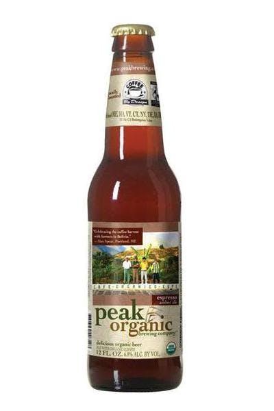 Peak Organic Espresso Amber