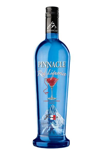 Pinnacle Red Liquorice Flavored Vodka