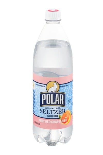 Polar Seltzer Water Ruby Red Grapefruit