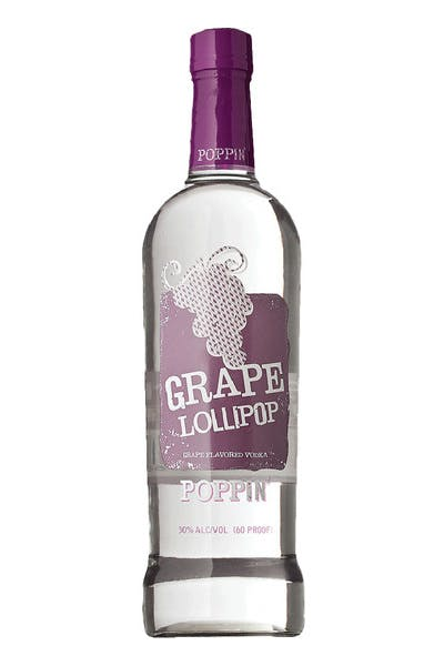 Poppin' Grape Lollipop Vodka