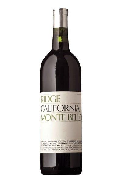Ridge Montebello Cabernet 2003