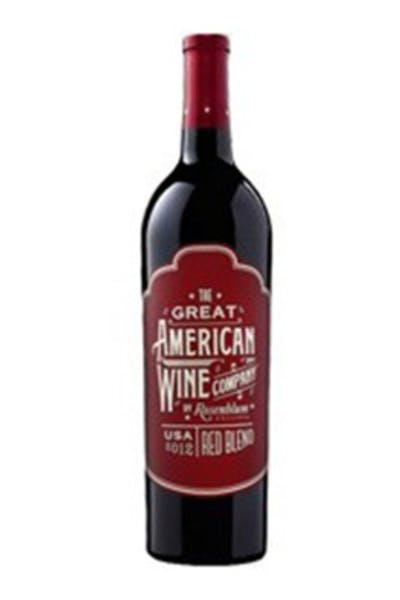 Rosenblum Cellars Great American Red Blend