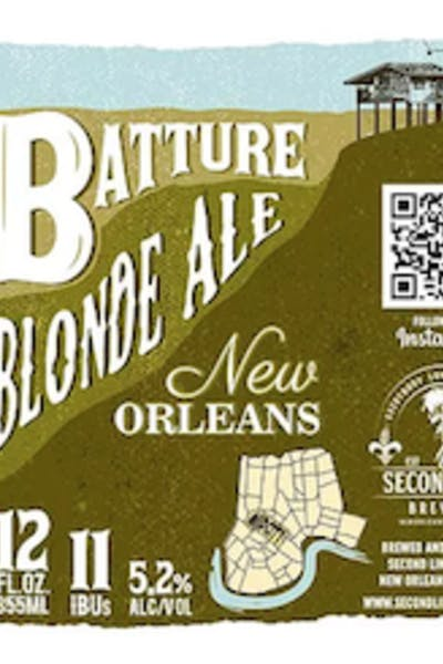 Second Line Batture Blonde Ale