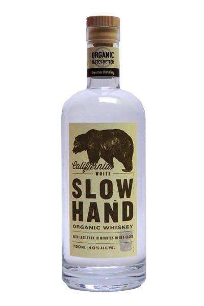 Slow Hand White Whiskey