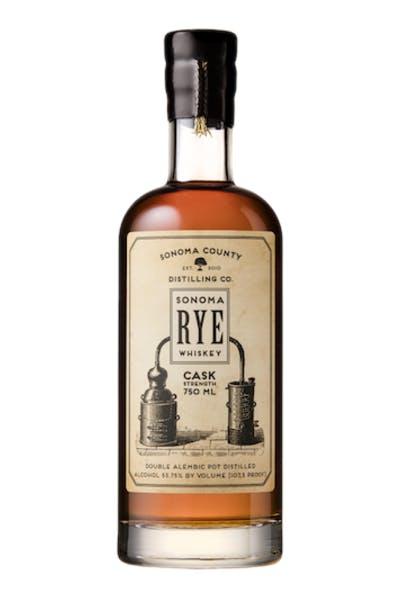 Sonoma County Casket Strength Rye Whiskey