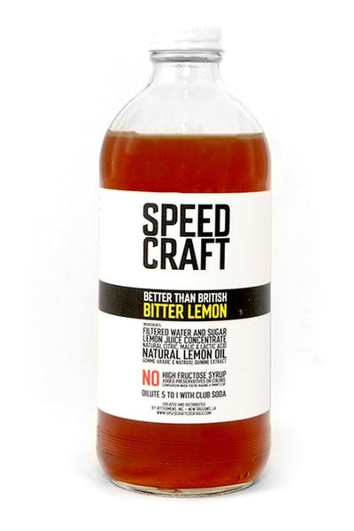 Speed Craft Bitter Lemon Syrup