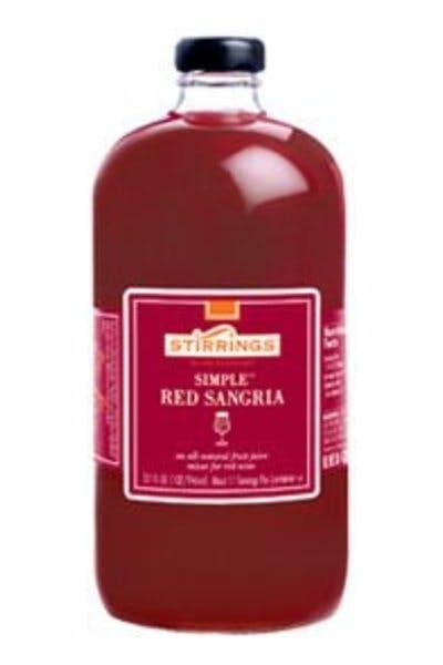 Stirrings Red Sangria