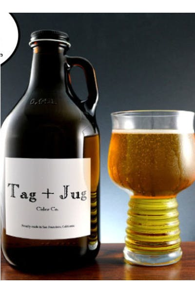 Tag + Jug Cider