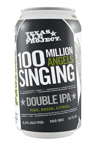 Texas Ale 100 Million Angels Singing Double IPA