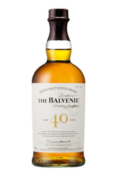 The Balvenie Scotch Single Malt 40 Year