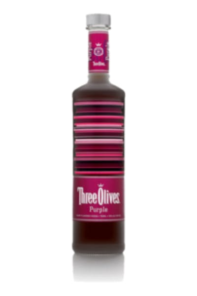 Three Olives Purple Vodka
