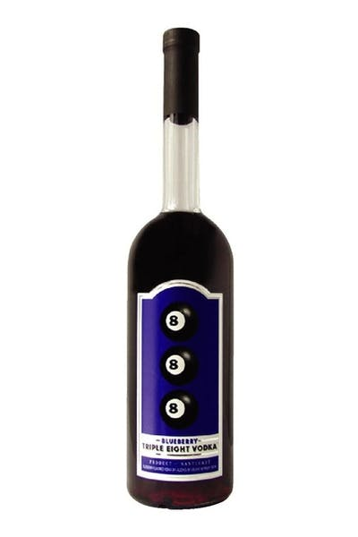 Triple Eight 888 Blueberry Vodka