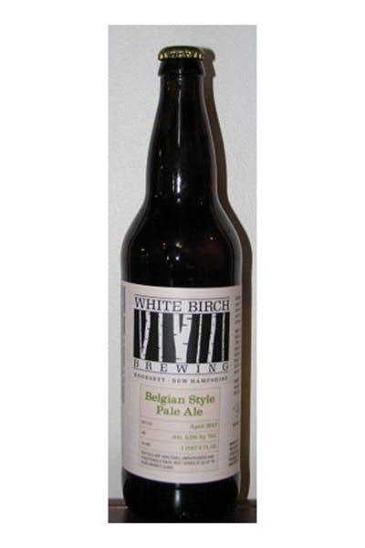 White Birch Belg Pale Ale