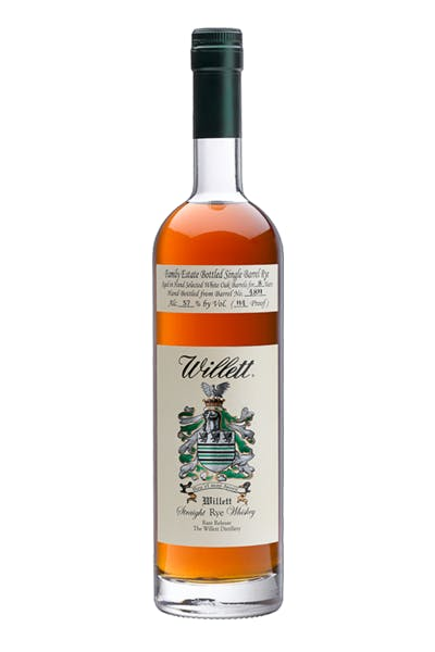 Willett Family Estate Bottled Rye 8 Year
