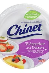 Chinet Small Paper Plates